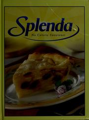 Cover of: Splenda no calorie sweetner |