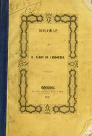 Cover of: Doloras