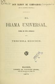 Cover of: El drama universal
