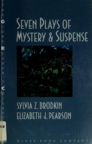 Cover of: Seven plays of mystery & suspense