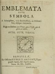 Cover of: Emblemata, sive Symbola