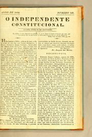 Cover of: O Independente Constitucional