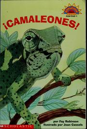 Cover of: Camaleones! | Fay Robinson