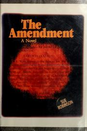 Cover of: The amendment