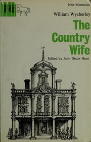 Cover of: The country wife