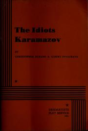 Cover of: The idiots Karamazov