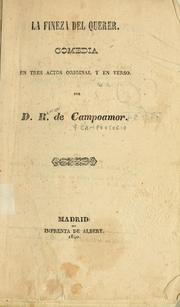 Cover of: La fineza del querer