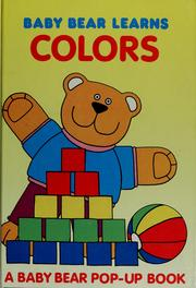 Cover of: Baby bear learns colors