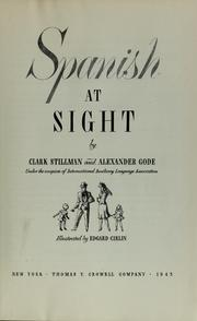 Cover of: Spanish at sight