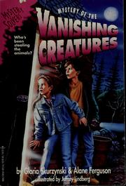 Cover of: Mystery of the vanishing creatures