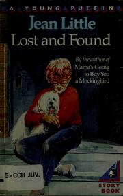 Cover of: Lost and found | Jean Little