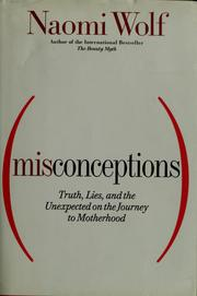 Cover of: Misconceptions