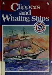 Cover of: Clippers and whaling ships