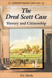 Cover of: The Dred Scott case