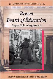 Cover of: Brown v. Board of Education