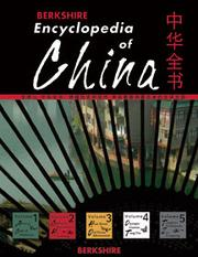 Cover of: Berkshire Encyclopedia of China |