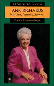 Cover of: Ann Richards