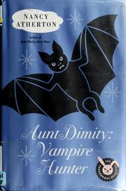 Cover of: Aunt Dimity by Nancy Atherton