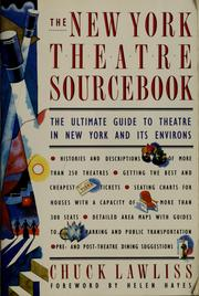 Cover of: The New York theatre sourcebook