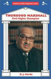 Cover of: Thurgood Marshall