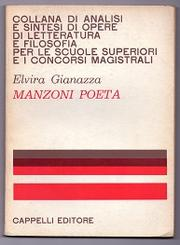 Cover of: Manzoni poeta