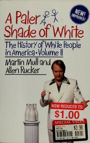 Cover of: A paler shade of white | Martin Mull