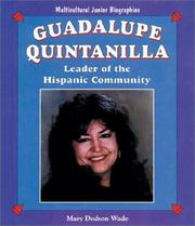 Cover of: Guadalupe Quintanilla: leader of the Hispanic community