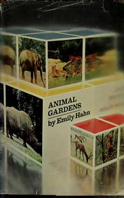 Cover of: Animal gardens