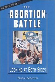 Cover of: The abortion battle