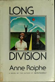 Cover of: Long division