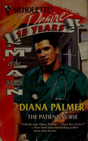 Cover of: THE PATIENT NURSE | Diana Palmer