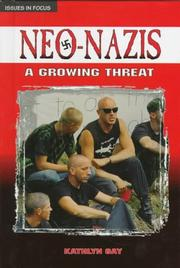 Cover of: Neo-Nazis: a growing threat
