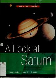 Cover of: A look at Saturn