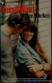 Cover of: Rain on the wind | Walter Macken