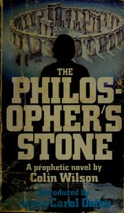 Cover of: The philosopher's stone: a novel