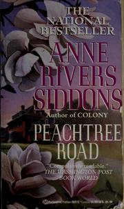Cover of: Peachtree Road