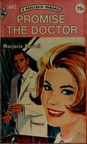 Cover of: Promise the doctor