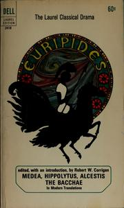 Cover of: Euripides | Euripides