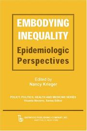 Cover of: Embodying Inequality | Nancy Krieger