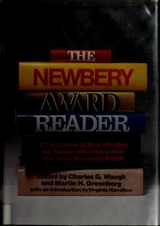Cover of: The Newbery Award reader