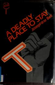 Cover of: A deadly place to stay