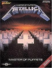Cover of: Metallica - Master of Puppets by Metallica