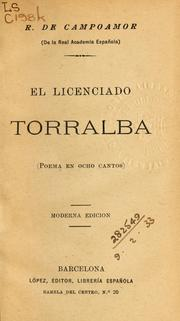Cover of: El licenciado Torralba