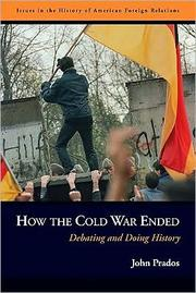 Cover of: How the Cold War Ended |