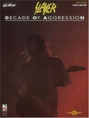 Cover of: Slayer - Decade of Aggression*