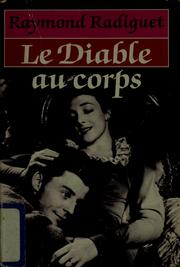 Cover of: Le diable au corps
