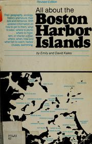 Cover of: All about the Boston Harbor islands | Emily Kales