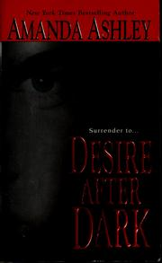 Cover of: Desire after dark