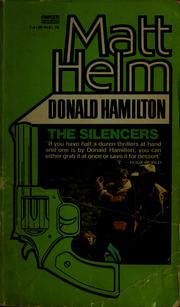 Cover of: The silencers | Donald Hamilton