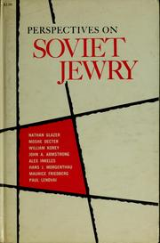 Cover of: Perspectives on Soviet Jewry